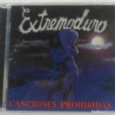 CDs de Música: EXTREMODURO - CANCIONES PROHIBIDAS PRECINTADO CD 2011-SPAIN DRO. Lote 212701951