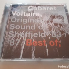 CDs de Música: CABARET VOLTAIRE - THE ORIGINAL SOUND OF SHEFFIELD 83 87 - 2001. Lote 176608938