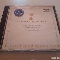 CDs de Música: LA SAGA DE LAS GALAXIAS - 1987. Lote 176609694