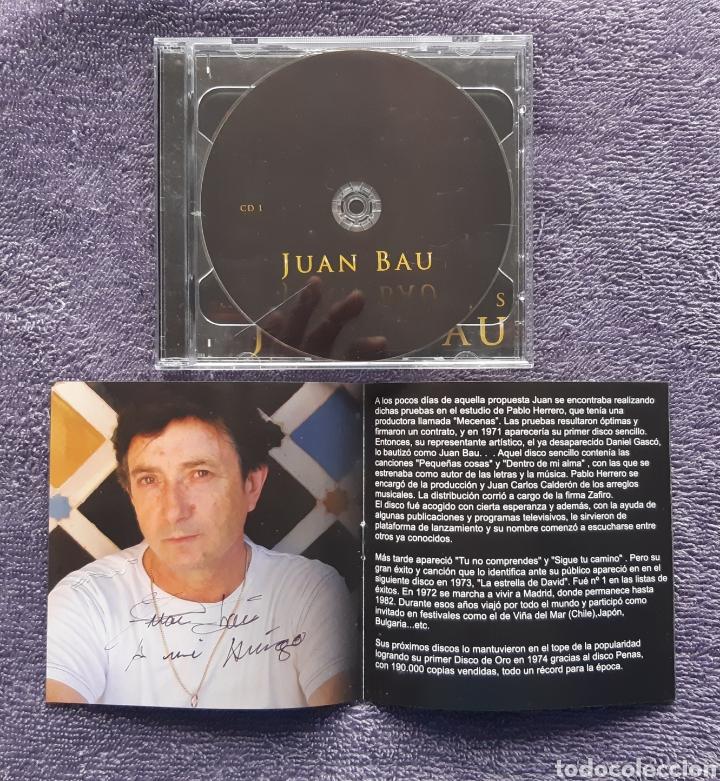 CDs de Música: JUAN BAU, DISCO DOBLE CON LIBRETO, AUTOGRAFIADO, DISCO PARA FANS, 2CDS - Foto 2 - 176611153