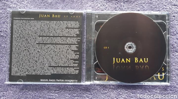 CDs de Música: JUAN BAU, DISCO DOBLE CON LIBRETO, AUTOGRAFIADO, DISCO PARA FANS, 2CDS - Foto 3 - 176611153