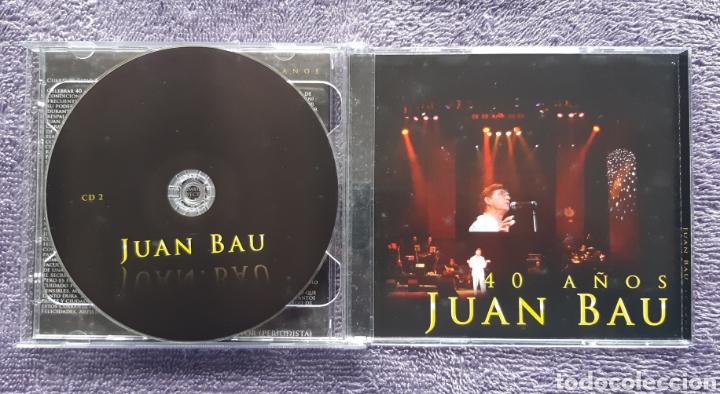 CDs de Música: JUAN BAU, DISCO DOBLE CON LIBRETO, AUTOGRAFIADO, DISCO PARA FANS, 2CDS - Foto 4 - 176611153