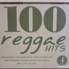 CDs de Música: 100 REGGAE HITS - 4 X CD - 2003 - SPAIN - NM+/EX+. Lote 176647314