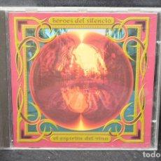 CDs de Música: HEROES DEL SILENCIO - EL ESPÍRITU DEL VINO - CD. Lote 176669000