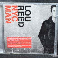 CDs de Música: LOU REED - NYC MAN - 2 CD. Lote 176671240