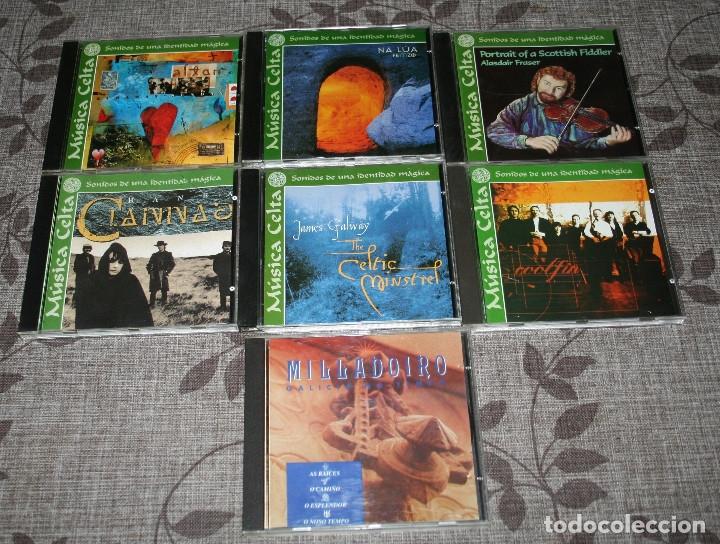 CDs de Música: MUSICA CELTA.LOTE 16 CDS.ALTAN.CLANNAD.NIGHTNOISE.MILLADOIRO.NA LUA.EMILIO CAO.BERROGÜETO.FOLK. - Foto 3 - 176674379