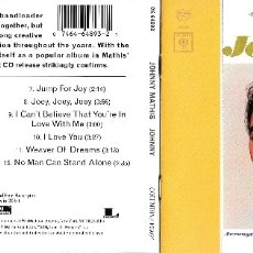 CDs de Música: JOHNNY MATHIS - JOHNNY. Lote 176703418