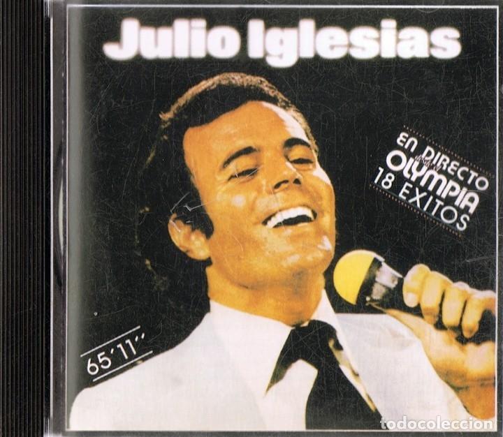 JULIO IGLESIAS ¨EN EL OLYMPIA¨ (CD) (Música - CD's Melódica )