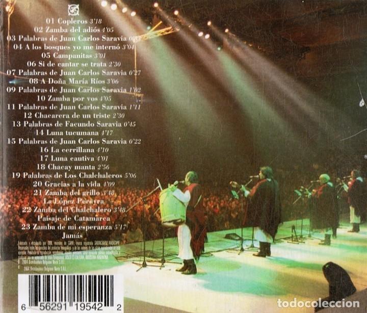 CDs de Música: LOS CHALCHALEROS LA NOCHE FINAL (CD) - Foto 2 - 176721512