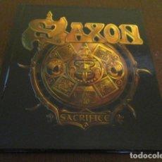 CDs de Música: SAXON - 2 CD - SACRIFICE - UDR 0150 CD - EDICION LIMITADA DIGIBOOK. Lote 176728757