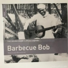 CDs de Música: BARBECUE BOB - THE ROUGH GUIDE TO BLUES LEGENDS - CD WORLD MUSIC NETWORK 2015 NUEVO. Lote 176736333