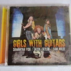 CDs de Música: SAMANTHA FISH/CASSIE TAYLOR/DANI WILDE - GIRLS WITH GUITARS 2011 GERMANY CD. Lote 176747162