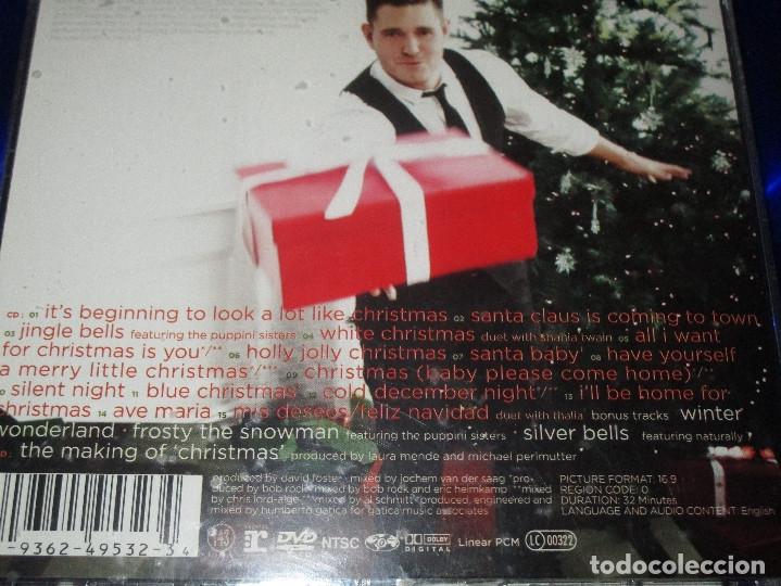 CDs de Música: MICHAEL BUBLE ( CHRISTMAS ) - CD + DVD - 9362-49532-3 - 143/REPRISE - SANTA BABY - SILENT NIGHT ... - Foto 4 - 176776720