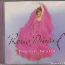 CDs de Música: ROCÍO DÚRCAL CD PARA TODA LA VIDA 1999 BMG SPAIN. Lote 176778098