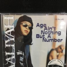 CDs de Música: AALIYAH-AGE AIN'T NOTHING BUT A NUMBER-1994-PRIMERA EDICION USA. Lote 176779494