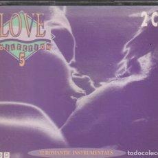 CDs de Música: LOVE COLLECTION 5 / DOBLE CD DE 1988 RF-2945. Lote 176801200