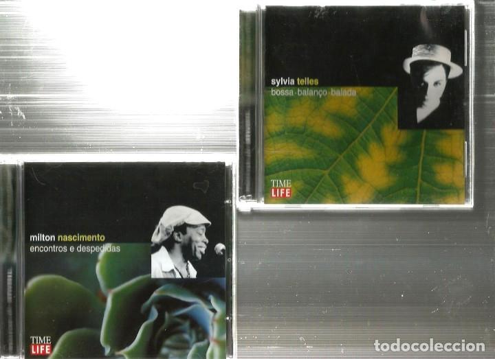 CDs de Música: 10 CD MUSICAS DO BRASIL : CHICO BUARQUE BADEN POWELL CAETANO VELOSO MILTON NASCIMENTO CARLOS LYRA - Foto 2 - 176828279