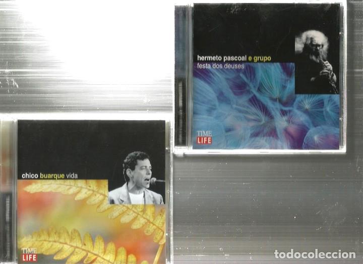 CDs de Música: 10 CD MUSICAS DO BRASIL : CHICO BUARQUE BADEN POWELL CAETANO VELOSO MILTON NASCIMENTO CARLOS LYRA - Foto 3 - 176828279