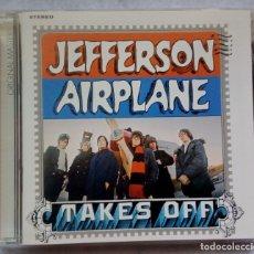 CDs de Música: JEFFERSON AIRPLANE - TAKES OFF - US CD 2003 - RCA / ORIGINAL MASTERS. Lote 176857447