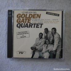 CDs de Música: GOLDEN GATE QUARTET - LO MEJOR DE GOLDEN GATE QUARTET - 2 CD 1994 . Lote 176863510