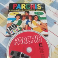 CDs de Música: PARCHÍS / CD SINGLE / A LOS NIÑOS DE NUESTROS AMIGOS / 4 CANCIONES / DIVUCSA 2000 / INFANTIL. Lote 176893782