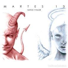 CDs de Música: NATOS Y WAOR - MARTES 13 - DIGIPAK. Lote 176914217