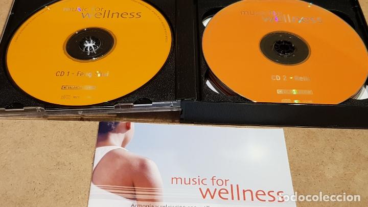 CDs de Música: MUSIC FOR WELLNESS / FENG SHUI-REIKI-YOGA-ETC... PACK 5 CDS DE BUENA CALIDAD. - Foto 2 - 176929552