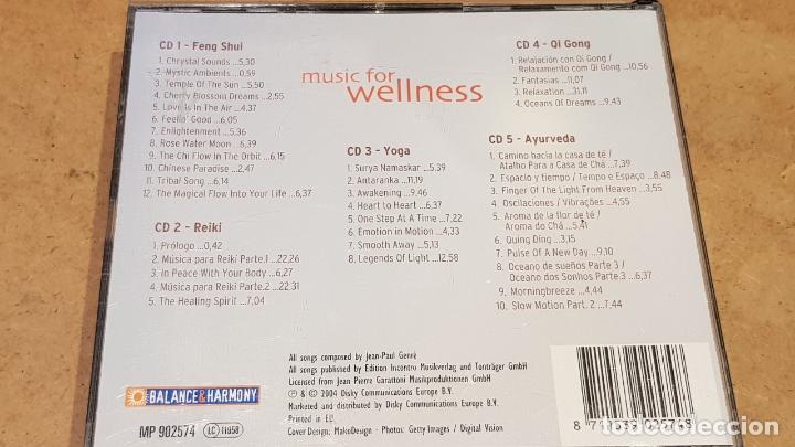 CDs de Música: MUSIC FOR WELLNESS / FENG SHUI-REIKI-YOGA-ETC... PACK 5 CDS DE BUENA CALIDAD. - Foto 6 - 176929552