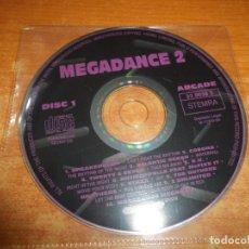 CDs de Música: MEGADANCE 2 SOLO CD 1 SIN PORTADA CD DEL AÑO 1994 SPEAKERBLOW TWENTY 4 SEVEN STAXX 10 TEMAS. Lote 176940697