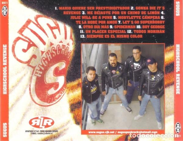 CDs de Música: SUGUS - HIGHSCHOOL REVENGE - Foto 2 - 176948014