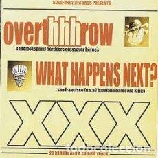 CDs de Música: OVERTHHHROW / WHAT HAPPENS NEXT - LIVIN' LA VIDA LOCA. Lote 176948537
