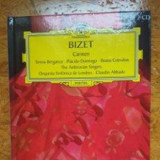 CDs de Música: BIZET / CARMEN. BIBLIOPERA: 2 CDS Y LIBRO. DEUTSCHE GRAMOPHON 2006. Lote 176960905