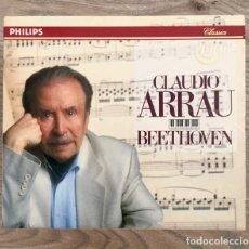 CDs de Música: CLAUDIO ARRAU - BEETHOVEN . THE 32 PIANO SONATAS - CAJA CON 11 CDS. Lote 176961187
