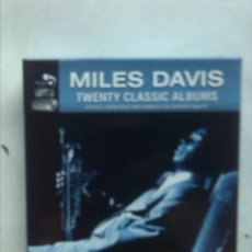 CDs de Música: MILES DAVIS TWENTY CLASSIC ALBUMS BOX SET 10 CDS . Lote 176961840