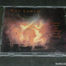 CDs de Música: CD - RAY LYNCH - NOTHING ABOVE MY SHOULDERS BUT THE EVENING - 1993 WINDHAM HILL. Lote 176971265