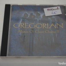 CDs de Música: CD - GREGORIAN MASTERS OF CHAT CHAPTER II. Lote 176971879