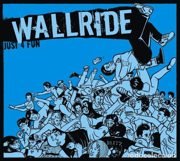 WALLRIDE - JUST FOR FUN - DIGIPACK (Música - CD's Rock)