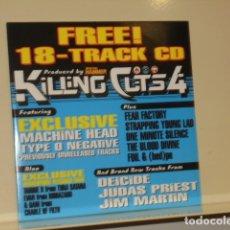 CDs de Música: PRODUCED BY METAL HAMMER 18 TRACK CD KILLING CUTS 4, MACHINE HEAD, JUDAS PRIEST, ETC. - AUDIO CD. Lote 177003429