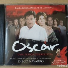 CDs de Música: BSO ORIGINAL OSCAR CON PAOLA BONTEMPI, EMMA SUÁREZ, JOAQUIM DE ALMEIDA CINE ESPAÑOL. Lote 177016528