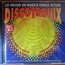 CDs de Música: DISCOTRONIX - LO MEJOR EN MUSICA DANCE - 2 CD. Lote 194887751
