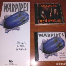 CDs de Música: DAVEY JOHNSTONE (GUITARRA ELTON JOHN) WARPIPES - HOLES IN THE HEAVENS 2 CD VERSION LONGBOX USA + UK. Lote 177018832