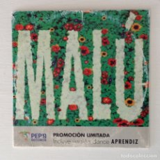 CDs de Música: MALÚ APRENDIZ DANCE SINGLE AUTOR ALEJANDRO SANZ EDICIÓN PROMCIONAL AUTOGRAFIADA. Lote 177026734