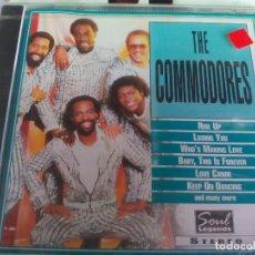 CDs de Música: CD. THE COMMODORES. Lote 177040325