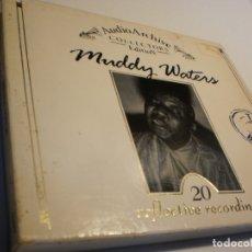CDs de Música: CD MUDDY WATERS. 20 REFLECTIVE RECORDINGS. ENGLAND (BUEN ESTADO). Lote 177040674