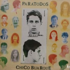 CDs de Música: CHICO BUARQUE - PARATODOS (CD, ALBUM) (RCA)V 120.046 (EDICIÓN BRASIL). Lote 177061198