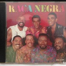 CDs de Música: RAÇA NEGRA - RAÇA NEGRA (CD, ALBUM) (RGE)342.6189 EDICIÓN BRASIL. Lote 177061654