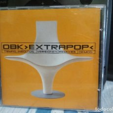 CDs de Música: OBK EXTRAPOP CD HISPAVOX 2001 - EXITOS Y REMEZCLAS - TECNO POP. Lote 177070297
