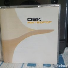CDs de Música: OBK ‎CD HISPAVOX 2000 - ANTROPOP - SYNTH POP TECNO - ELECTRONICA . Lote 177070359