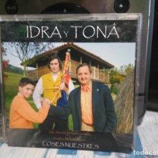CDs de Música: IDRA Y TONA COSES NUESTRES CD ALBUM PRINCIPADO DE ASTURIAS . Lote 177071353