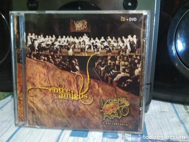 ENTRE AMIGOS VUELTA ABAJO X ANIVERSARIO CD + DVD 2012 EDITA FONOGRAFICA ASTURIAS PEPETO (Música - CD's Country y Folk)
